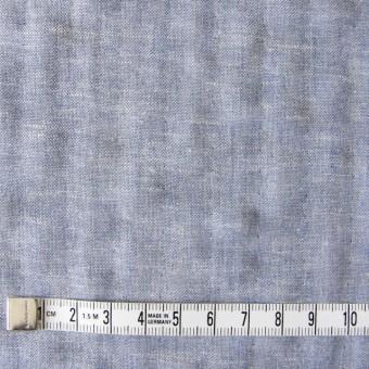 コットン&リネン×無地(ブルー)×ダンガリーWガーゼ_全2色 サムネイル4