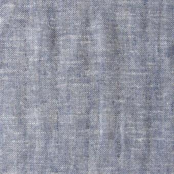 コットン&リネン×無地(ネイビー)×ダンガリーWガーゼ_全2色 サムネイル1