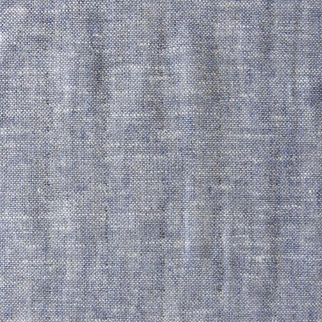 コットン&リネン×無地(ネイビー)×ダンガリーWガーゼ_全2色 イメージ1