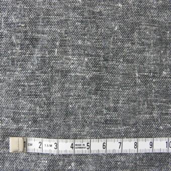コットン&ヘンプ(麻)×無地(黒白)×ダンガリーWガーゼ サムネイル4