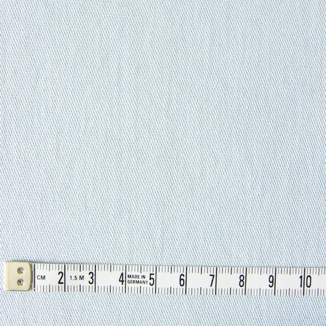 コットン&ポリウレタン×無地(サックスグレー)×ギャバジンストレッチ_全2色 イメージ4