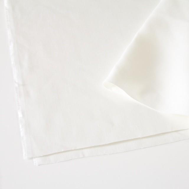 リネン×無地(オフホワイト)×カツラギ イメージ2