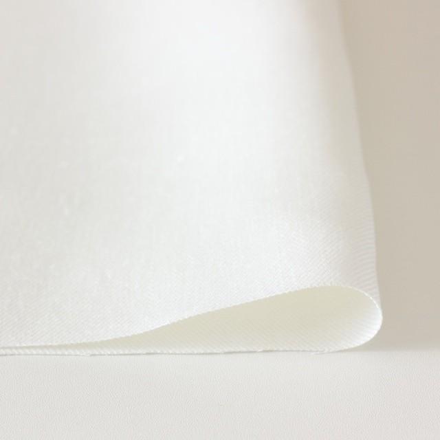 リネン×無地(オフホワイト)×カツラギ イメージ3