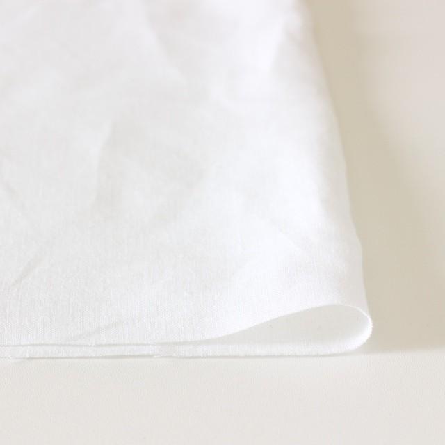 リネン×無地(ホワイト)×薄キャンバス(シリーズNO1)_全3色 イメージ3