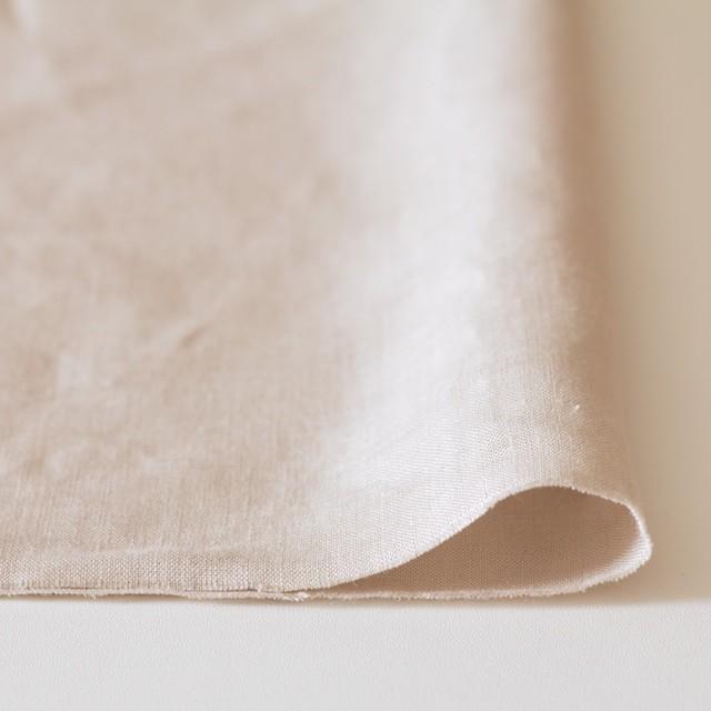 リネン×無地(ミルクティ)×薄キャンバス(シリーズNO2)_全3色 イメージ3