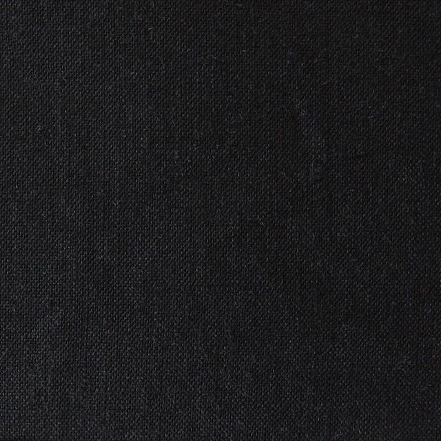 リネン×無地(ブラック)×薄キャンバス(シリーズNO2)_全3色 イメージ1