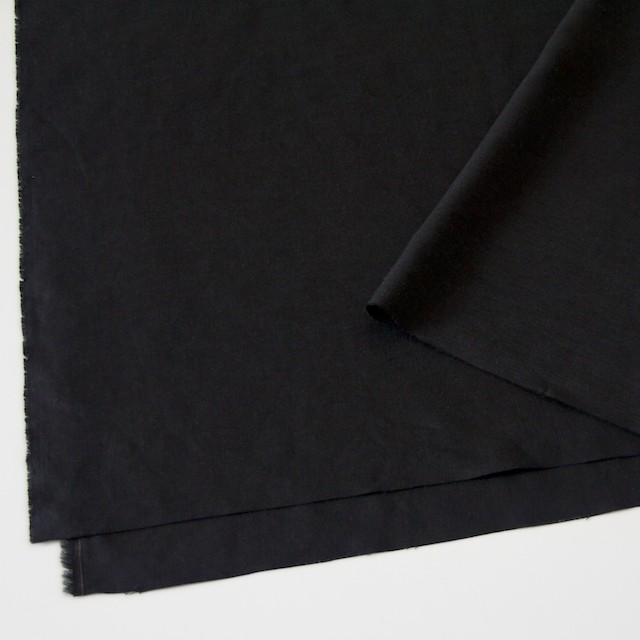 リネン×無地(ブラック)×薄キャンバス(シリーズNO2)_全3色 イメージ2