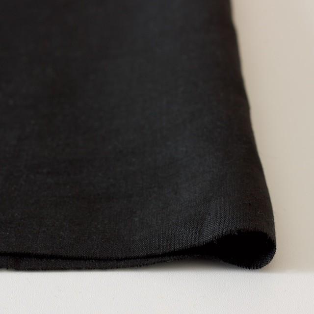 リネン×無地(ブラック)×薄キャンバス(シリーズNO2)_全3色 イメージ3