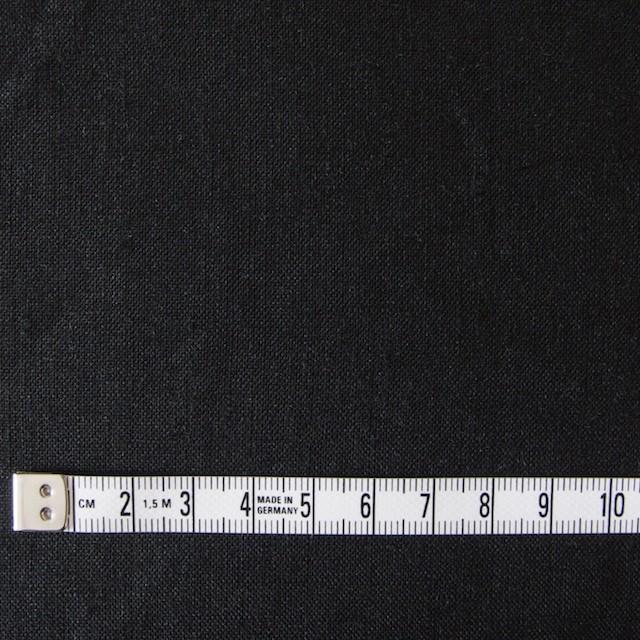 リネン×無地(ブラック)×薄キャンバス(シリーズNO2)_全3色 イメージ4