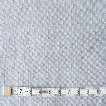リネン&コットン×無地(サックス)×オックスフォード_全4色 サムネイル4