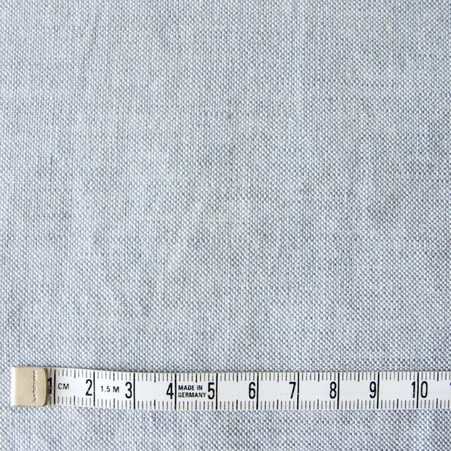 リネン&コットン×無地(サックス)×オックスフォード_全4色 イメージ4