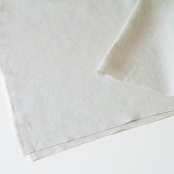 リネン&コットン×無地(アイスグレー)×かわり織_全3色 サムネイル2
