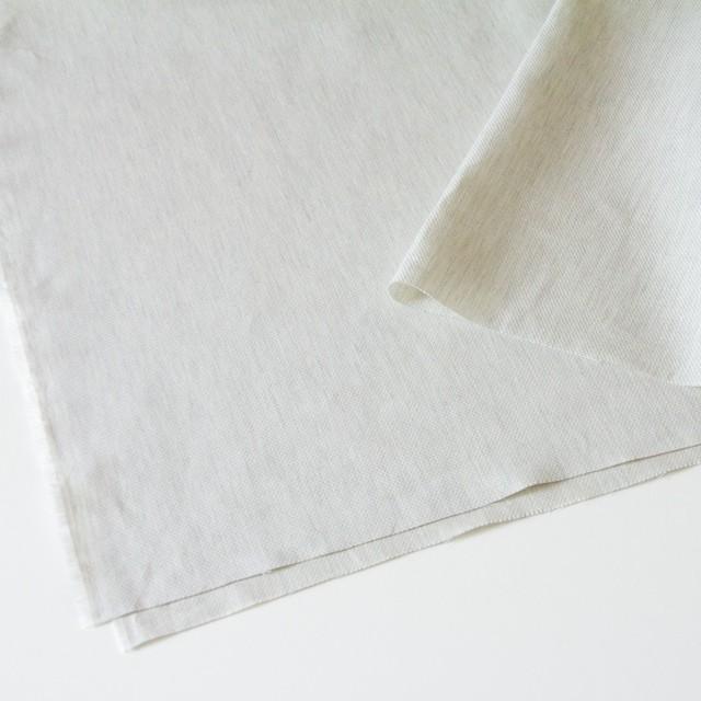 リネン&コットン×無地(アイスグレー)×かわり織_全3色 イメージ2
