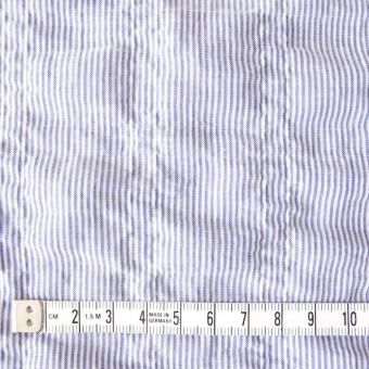 コットン×ストライプ(ブルー)×ローンシャーリング_全2色 サムネイル4