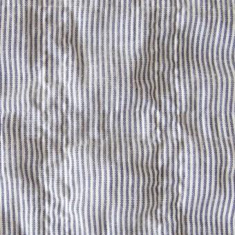 コットン×ストライプ(ネイビー)×ローンシャーリング_全2色 サムネイル1