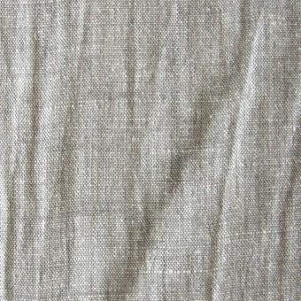 リネン混×無地(グレーミックス)×シャンブレーワッシャー_全2色 サムネイル1