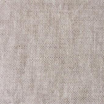 リネン&コットン×無地(ブラウン)×オックスフォード_全4色 サムネイル1