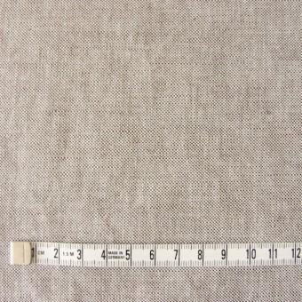 リネン&コットン×無地(ブラウン)×オックスフォード_全4色 サムネイル4