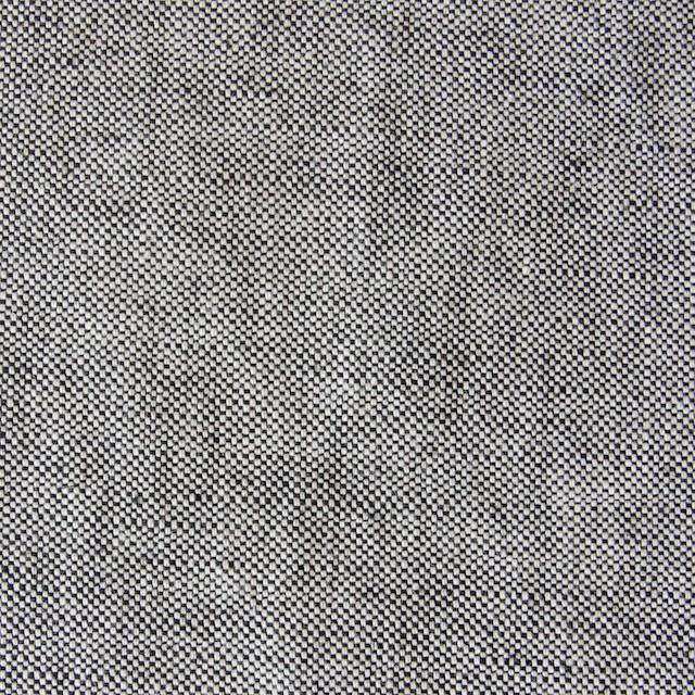 リネン&コットン×無地(ブラック)×オックスフォード_全4色 イメージ1