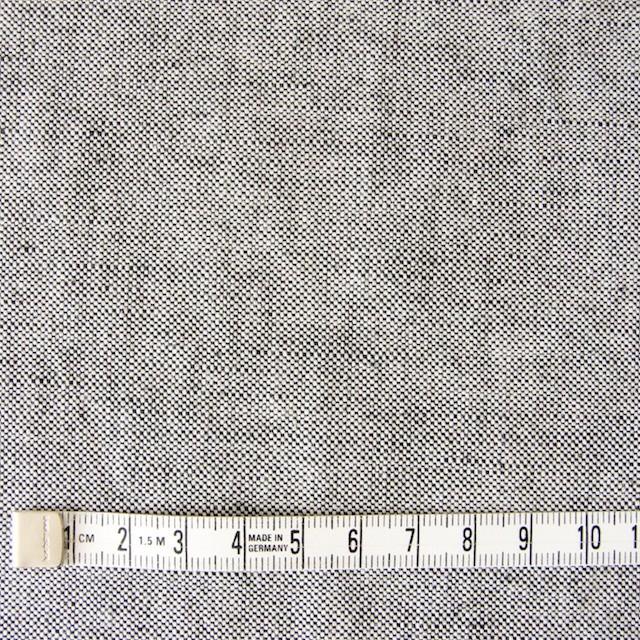 リネン&コットン×無地(ブラック)×オックスフォード_全4色 イメージ4