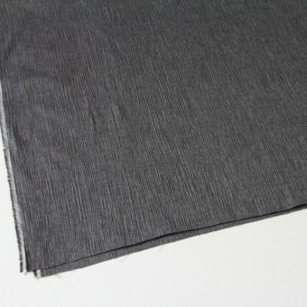 コットン&リネン混×無地(ブラック)×ヨウリュウ_全3色 サムネイル2