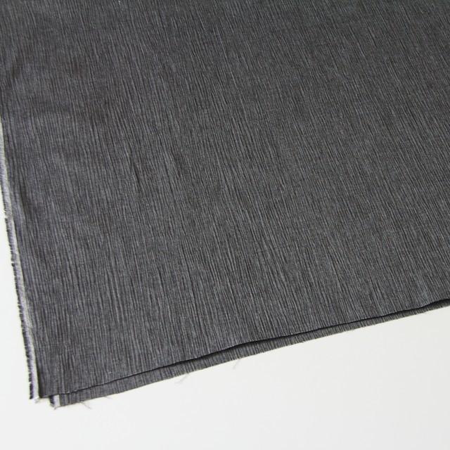 コットン&リネン混×無地(ブラック)×ヨウリュウ_全3色 イメージ2