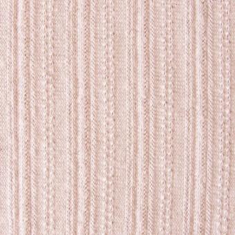 コットン&リネン×無地(パウダーピンク)×模様編ニット_全5色 サムネイル1