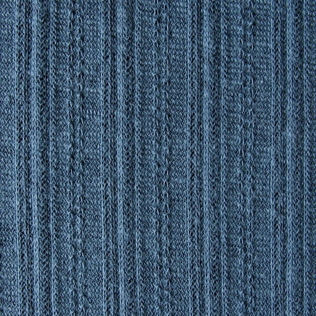 コットン&リネン×無地(ブルーグレー)×模様編ニット_全5色 イメージ1