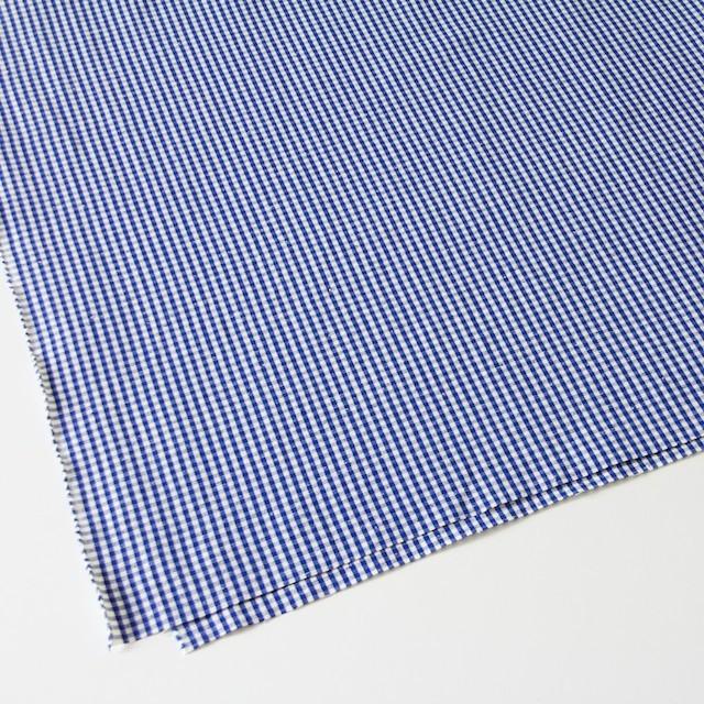 コットン&リネン×ギンガムチェック(スカイブルー)×ポプリン イメージ2