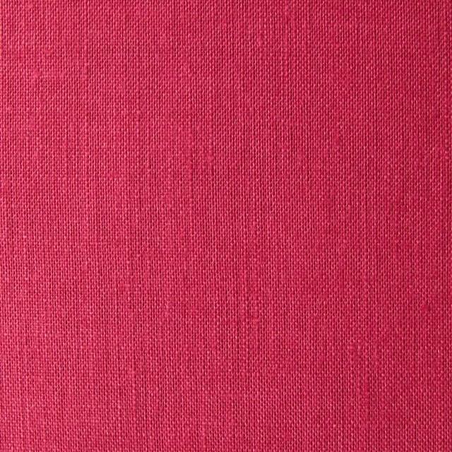 リネン×無地(ストロベリーレッド)×薄キャンバス_全4色(シリーズ1) イメージ1