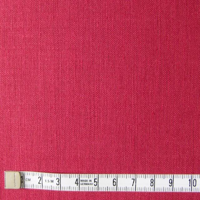 リネン×無地(ストロベリーレッド)×薄キャンバス_全4色(シリーズ1) イメージ4