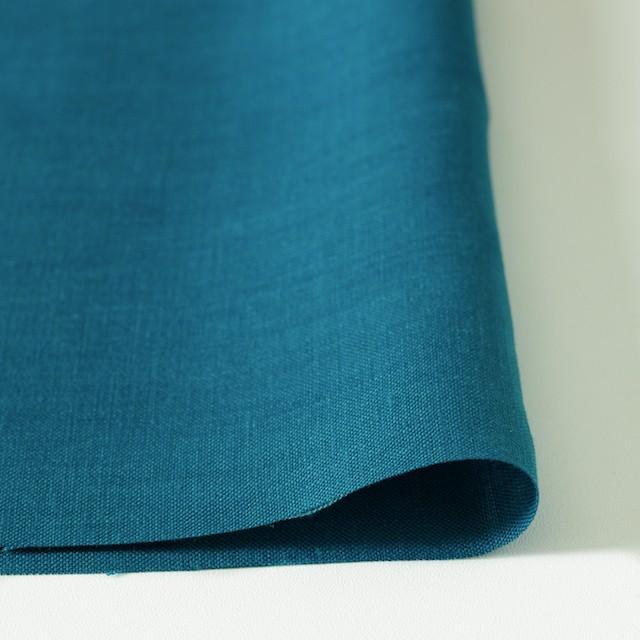 リネン×無地(ターコイズブルー)×薄キャンバス_全3色(シリーズ2) イメージ3
