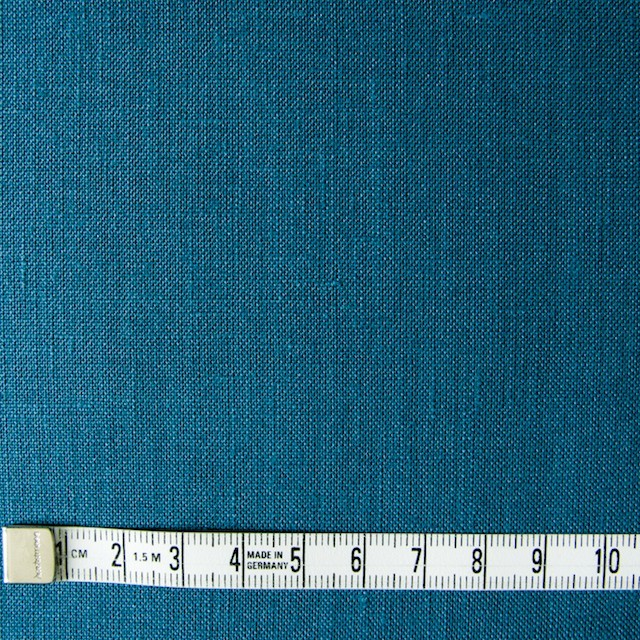リネン×無地(ターコイズブルー)×薄キャンバス_全3色(シリーズ2) イメージ4