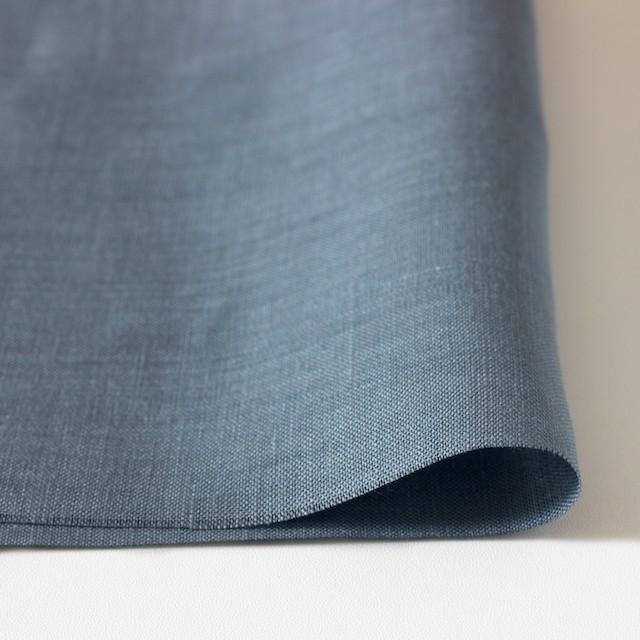 リネン×無地(グレイッシュブルー)×薄キャンバス_全3色(シリーズ2) イメージ3