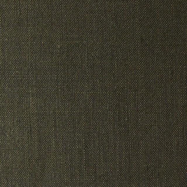 リネン×無地(カーキグリーン)×薄キャンバス_全4色(シリーズ3) イメージ1