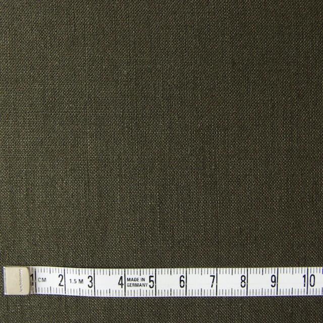リネン×無地(カーキグリーン)×薄キャンバス_全4色(シリーズ3) イメージ4
