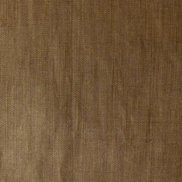 ラミー(麻)×無地(カーキブラウン)×ローン_全3色 イメージ1