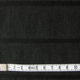 リネン&コットン×ボーダー(ブラック)×ジャガード_全2色 サムネイル4