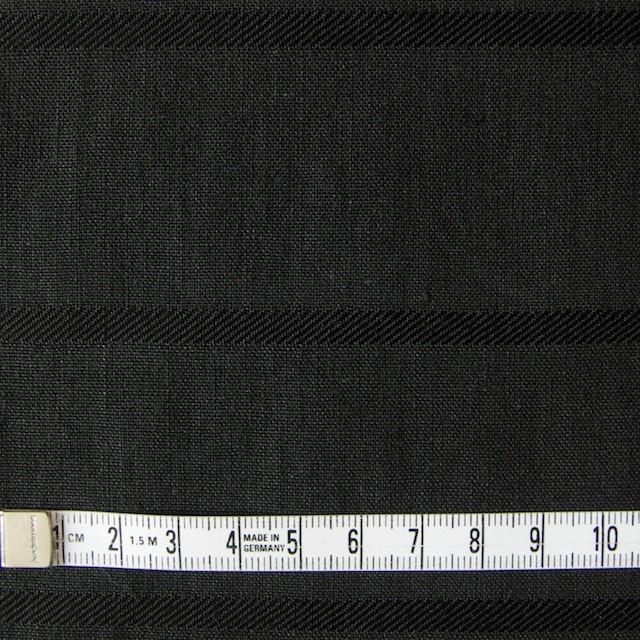 リネン&コットン×ボーダー(ブラック)×ジャガード_全2色 イメージ4
