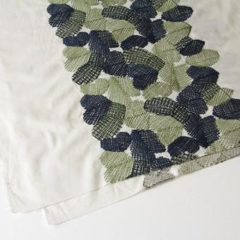 コットン×幾何学模様(アイボリー)×ローン刺繍_全2色 サムネイル2