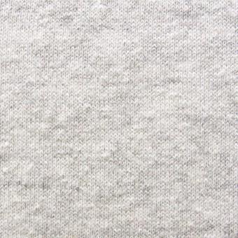 コットン×無地(ライトグレー)×天竺ニット サムネイル1