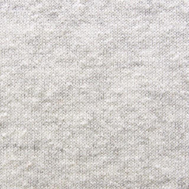 コットン×無地(ライトグレー)×天竺ニット イメージ1
