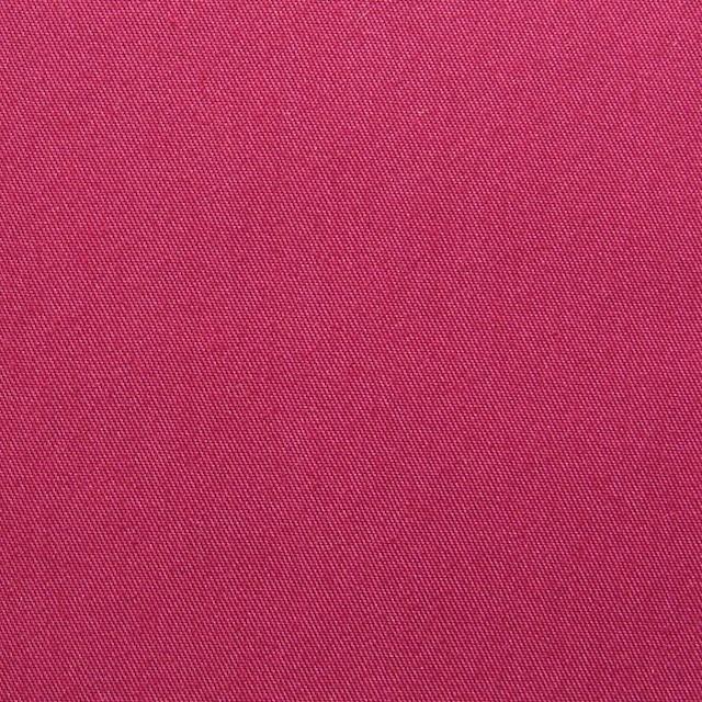 ポリエステル&コットン×無地(ストロベリーレッド)×ギャバジン_全4色 イメージ1