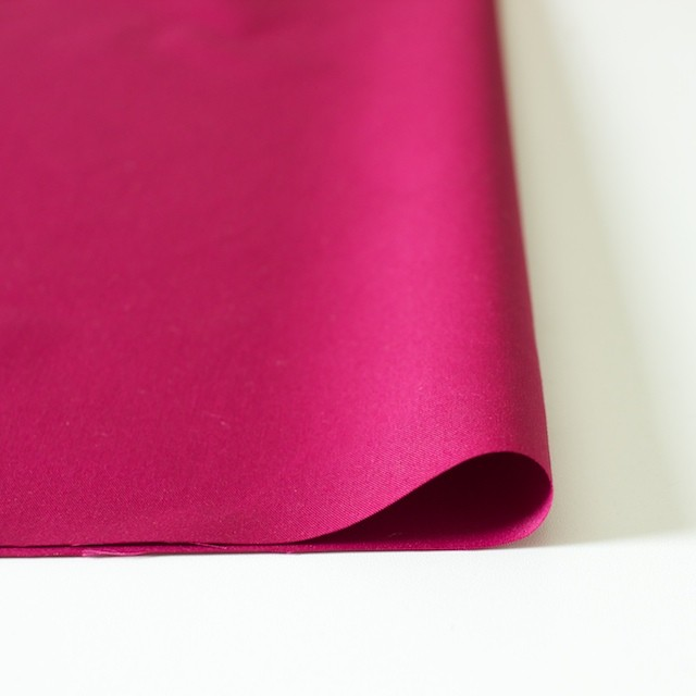 ポリエステル&コットン×無地(ストロベリーレッド)×ギャバジン_全4色 イメージ3
