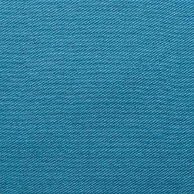 ポリエステル&コットン×無地(ターコイズブルー)×ギャバジン_全4色 イメージ1