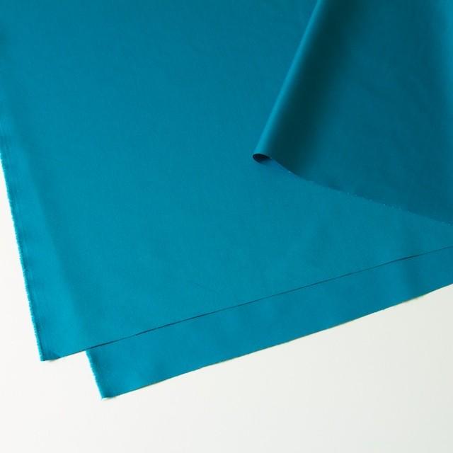 ポリエステル&コットン×無地(ターコイズブルー)×ギャバジン_全4色 イメージ2