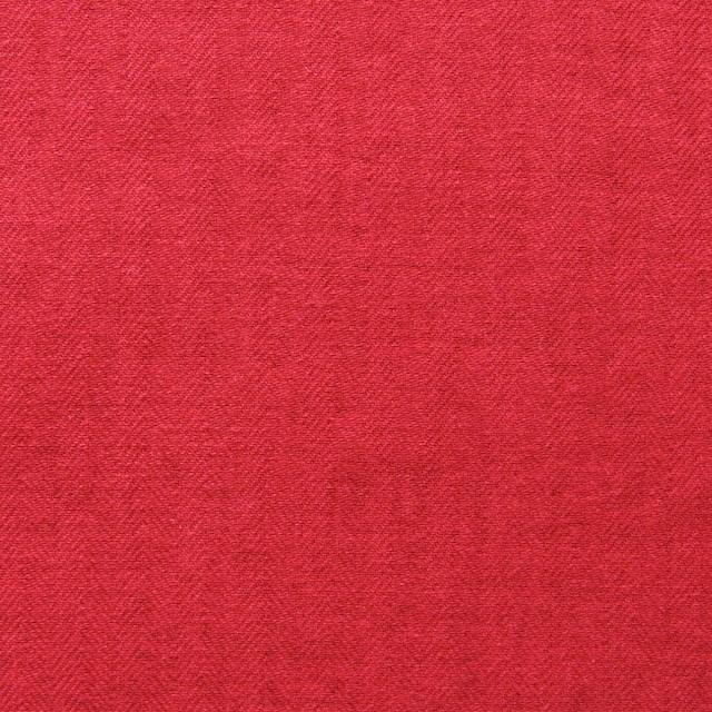 コットン×無地(レッド)×ヘリンボーン イメージ1