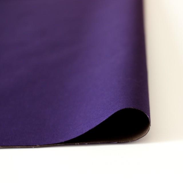 コットン×無地(カーキベージュ&パープル)×ブロードボンディング イメージ3