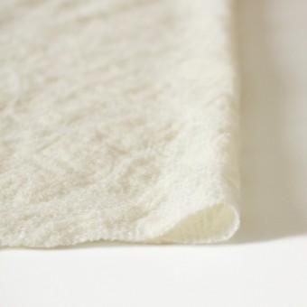 ウール&ナイロン×フラワー(オフホワイト)×ループレース_全2色 サムネイル3
