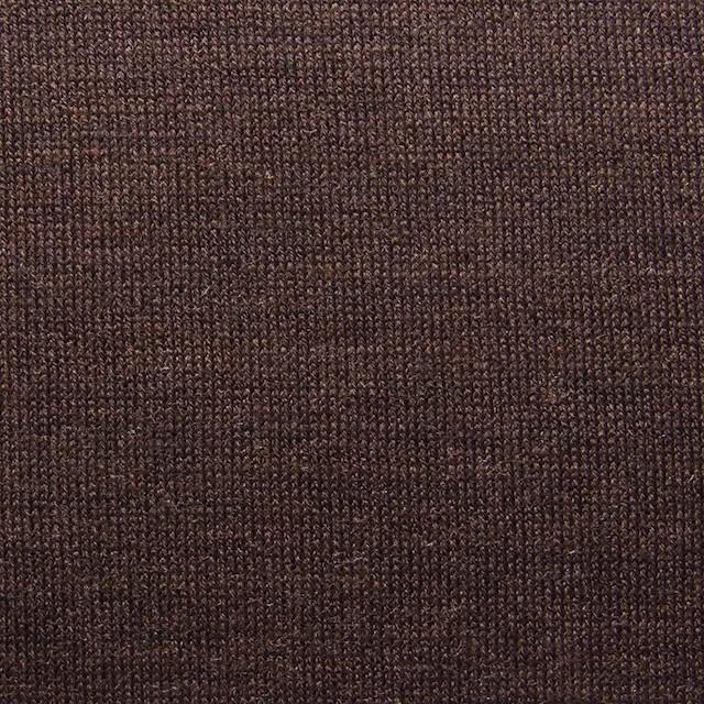 ウール&キュプラ×無地(ココア)×天竺ニット_全3色 イメージ1